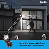 LEONLITE LED Security Lights, Motion Sensor Flood