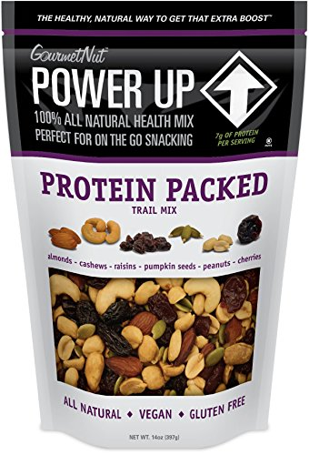 Power Up Trail Mix – Protein Packed, 100% All Natural Trail Mix (Pack of 2)