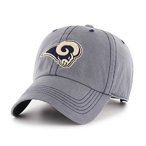 - NFL Los Angeles Rams Deck Hand OTS Challenger Adjustable Hat, Navy, One Size