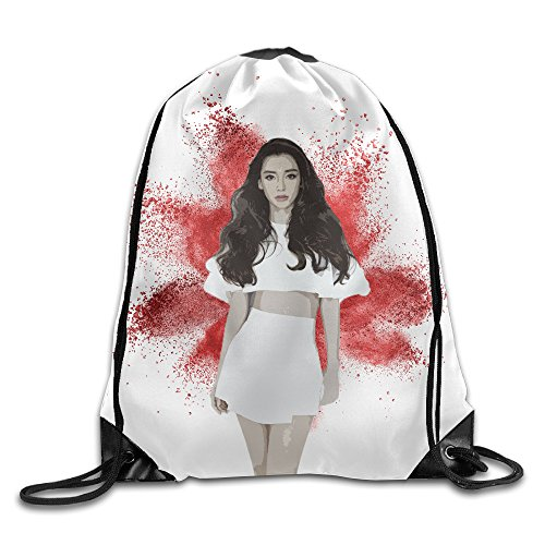 show-time-angelababy-poster-backpack-gymsack-drawstring-sport-bag