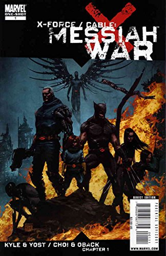 X-Force/Cable: Messiah War #1 VF ; Marvel comic - Elixir Cables