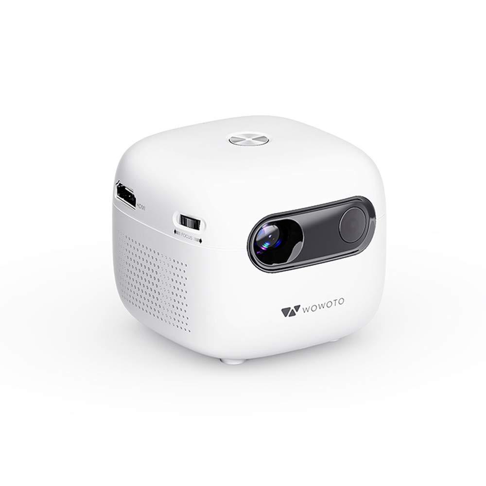 KTops Mini Proyector, Portátil DLP HD Inalámbrico Proyector ...