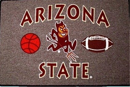 ARIZONA STATE Sun Devils - Welcome/Door Mat Rug - (Devils Door Mat Rug)