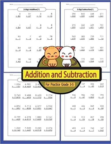 Grade 3 Addition /& Subtraction