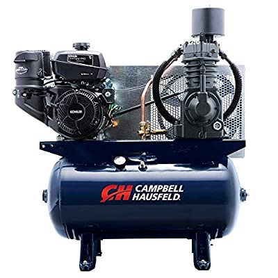 Campbell Hausfeld Air Compressor, 30 Gallon Horizontal Stationary 2 Stage, 26.1 CFM, 14HP (TF2136)