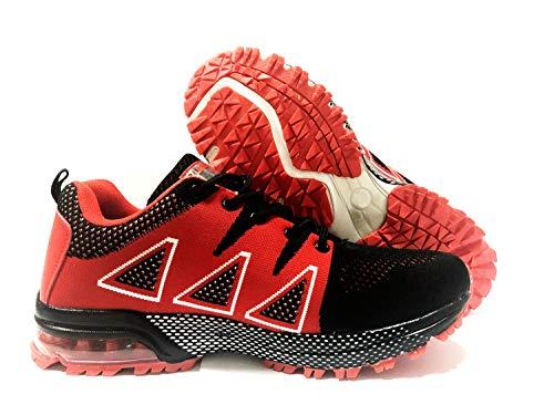 Negro Running Rojo Deportes Zapatillas Interior De Para IXwxdpqSX