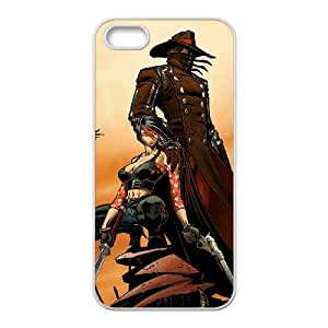 red steel 2 iPhone 5 5s Cell Phone Case White gift PJZ003-7493624