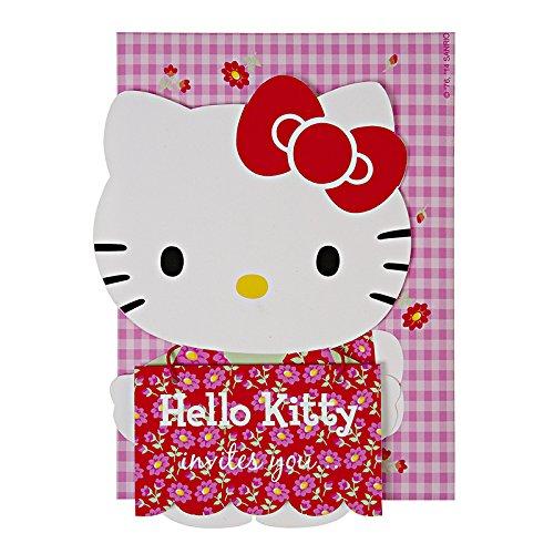 Daisy Invitation (Meri Meri Hello Kitty Daisy Invites)