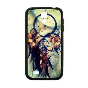 Dream Catcher Campanula Pattern Rigid Samsung Galaxy S4 I9500 Shell Case Cover (Laser Technology)
