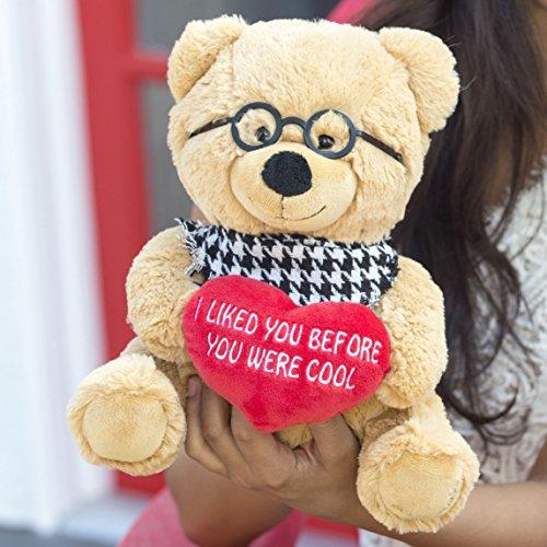 Hollabears 10″ Hipster Teddy Bear Plush