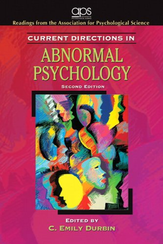 Current Directions in Abnormal Psychology (2nd Edition)