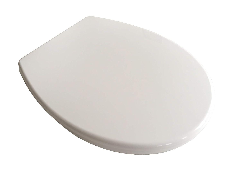 WC Sitz Klobrille mit Absenkautomatik und auf Knopfdruck abnehmbar zur Reinigung ADOB