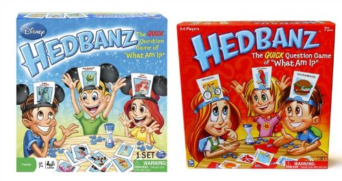 Hedbanz Bundle Disney Y Original Edition 2 Grandes Juegos