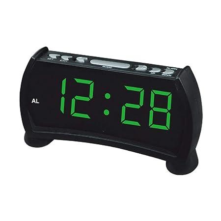 LIANGJIE Despertador electrónico, Despertador de Moda para el ...