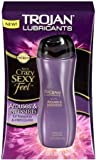 Trojan Premium Lubricant Arouses and Intensifies for Crazy Sexy Feel for Foreplay & Intercourse : 3 Fl Oz or 88.7 Ml