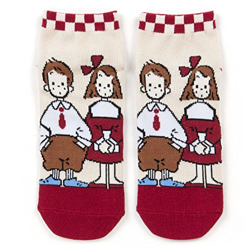 Famous Duo Costumes (Sanrio The vaudeville duo adult sneaker socks From Japan New)
