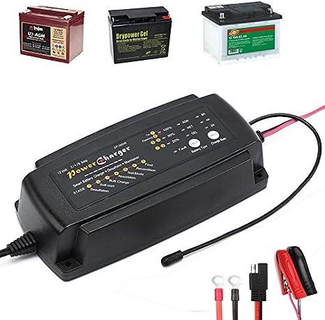 Amazon.com: Cargador de batería de 24 V 5 A.: Automotive