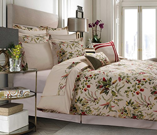 Tribeca Living MAUI12BBQU 12 Piece Maui Cotton Bedding Set, Queen