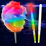 8 Function LED Cotton Candy Glo Cones 50 Count