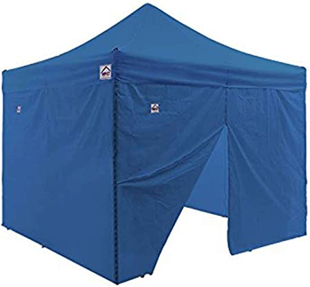 Royal Blue 4 Sidewalls Impact Canopy Walls for 10/' x 10/' Pop-Up Tent Canopy
