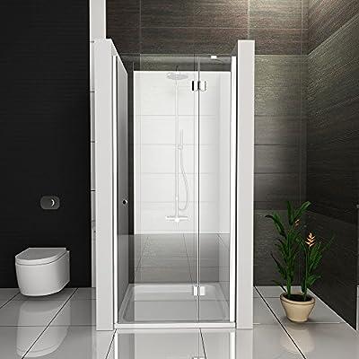 Mampara de ducha con cristal los arañazos nichos Puerta de ducha ...