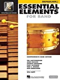 Hal Leonard Essential Elements 2000 Plus Percussion Book 1 with CD-ROM