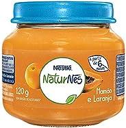 Papinha, Mamão com Laranja, Nestlé, 120g