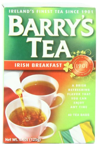 Barry's Tea Bags, Irish Breakfast, 40 (Barrys Gold Blend Tea)