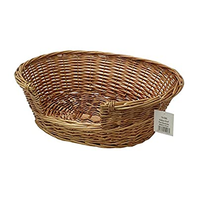 Cat Basket JVL Pet Basket Willow, 58 x 49 x 20 cm by JVL [tag]