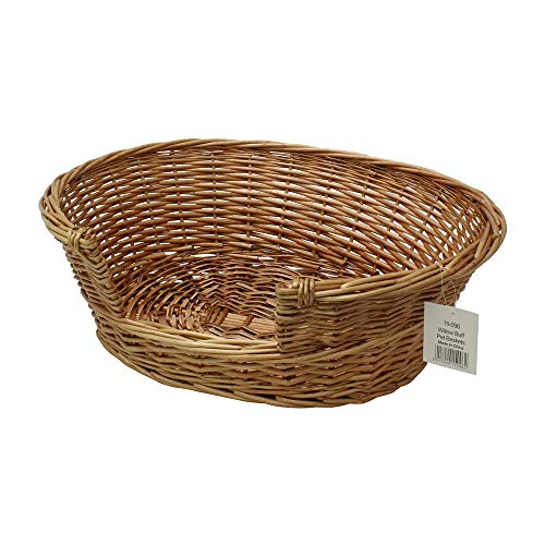 JVL Pet Basket Willow, 58 x 49 x 20 cm by JVL