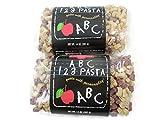 Pasta Shoppe ABC 123 Pasta 2 Pack