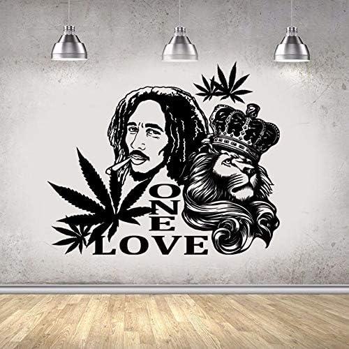 Bob Marley approx Vinyl Decal / Sticker LION 130mm X 115mm Home ...