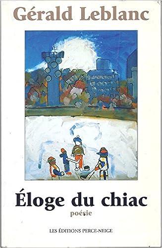 Livre gratuits Eloge du Chiac epub pdf