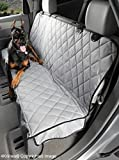 4Knines Dog Seat Cover with Hammock for Full Size Trucks and Large SUVs- USA Based