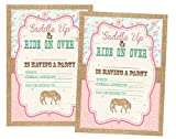 Pony Party Decorations Invitations and Supply Kit Horse (Invitations) 12 Invites and Envelopes Included