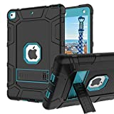 iPad 6th Generation Cases, iPad 2018 Case, iPad 9.7 Inch Case,Hybrid Shockproof Rugged