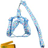 Adjustable-Breakaway-Flower-Printed-Dog-Cat-Pet-Harness-and-Leash-Set-for-Dogs-Cats-Pets
