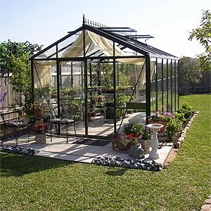 Victorian Glass Greenhouse 10'2″ wide x 15′ long