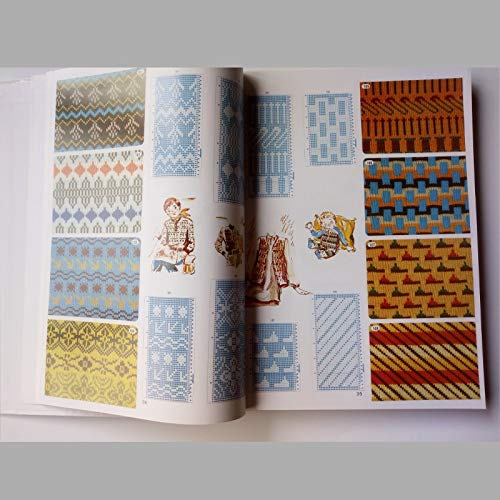 ShineBear Brother Knitting Machine DIY Sweater Volume Punchcard Pattern Book 319pages by ShineBear (Image #3)