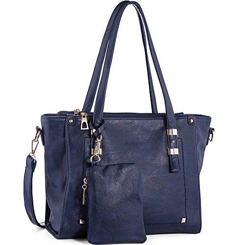 WISHESGEM Women Fashion Handbags Top-Handle Should…
