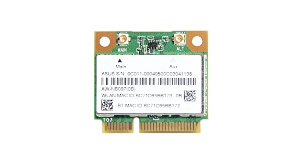 Amazon.com: Atheros ar5b225 WiFi inalámbrica Bluetooth 4.0 ...