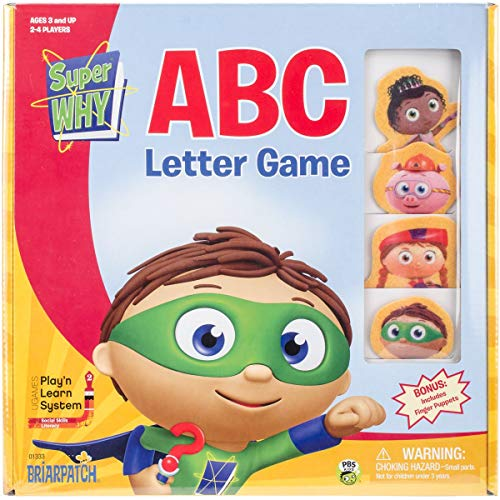 - Super WHY ABC Game