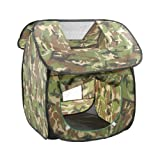 Cute Camouflage Play Tents Indoor/Outdoor Play Tent Beach Tent for Kids
