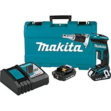 Makita XSF03R 18V LXT Compact Brushless Drywall Screwdriver Kit