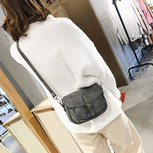 Gray Crossbody Women Shoulder Bag Fashion Bag Brown Satchel Leather Messenger Women Tote Handbag Sxqd7rwq