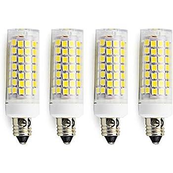 e11 led bulb luxvista 7w jd t4 t3 led mini candelabra e11 base 120v omni directional corn light. Black Bedroom Furniture Sets. Home Design Ideas