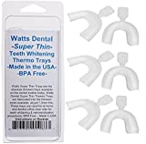 Watts Dental Super Thin Thermo Trays - 6 Pack - BPA free