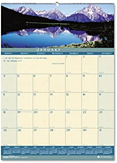 product image for HOD362 - House Of Doolittle Landscapes Monthly Wall Calendar