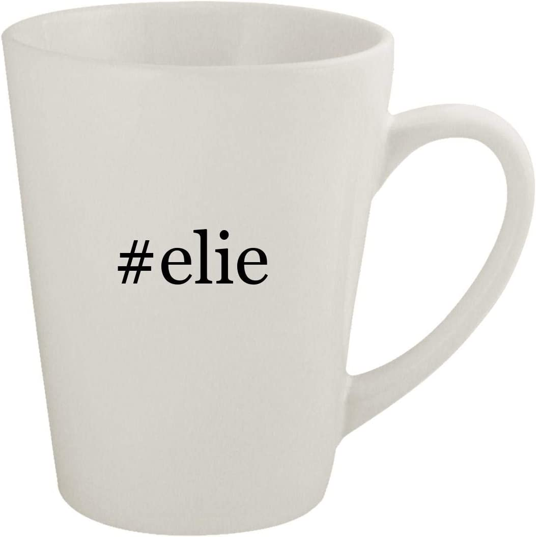 #elie - Ceramic 12oz Latte Coffee Mug