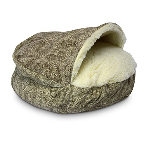 Snoozer Luxury Orthopedic Cozy Cave, Small, Sicily Bone